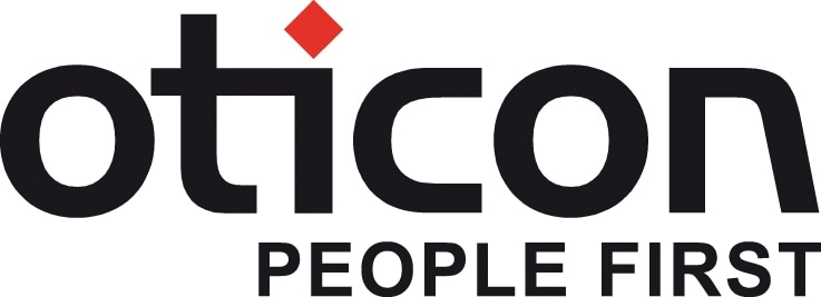 oticon hearing aids logo