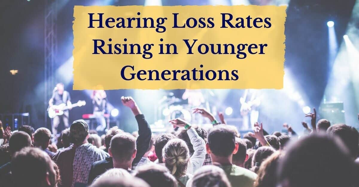 Hearing loss rates rise in younger generation