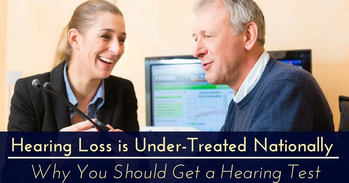 hearing loss under-treated nationally