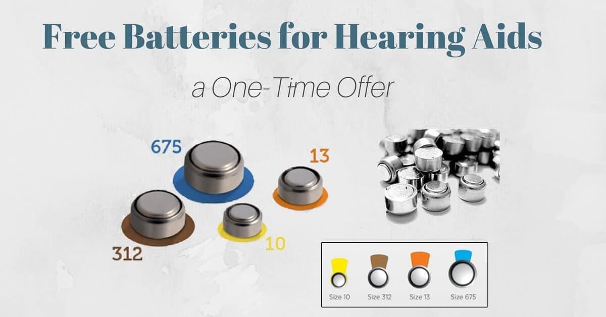 Free Batteries for Hearing Aids