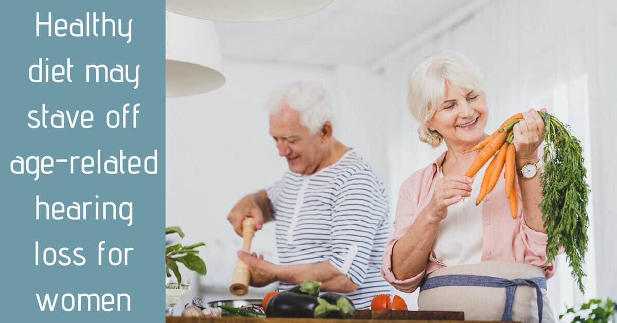 Healthy diet may stave off age-related hearing loss for women