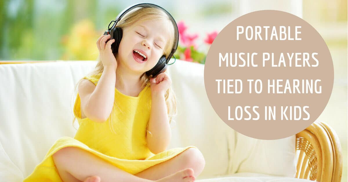 Portable music players tied to hearing loss in kids