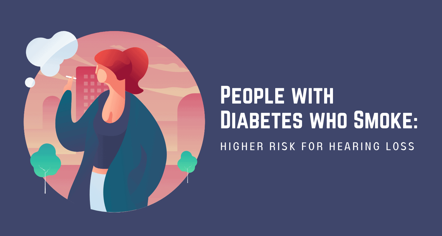 """Featured image for """"People with Diabetes who Smoke: Higher Risk for Hearing Loss"""""""